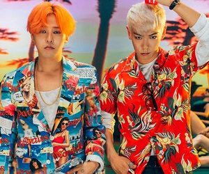 g-dragon, top, and bigbang image