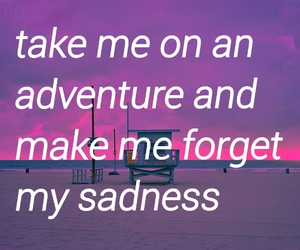 adventure, forget, and sadness image