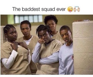 oitnb, squad, and crazy eyes image