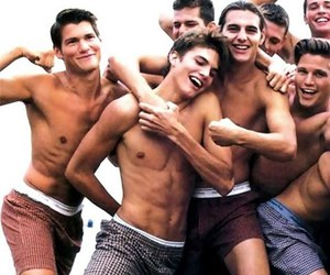 abs, ashton kutcher, and men image