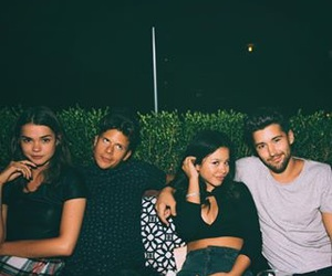 maia mitchell, rudy mancuso, and couple image