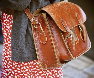 girl, bag, and style image