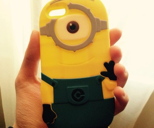 cases, iphone, and minion image