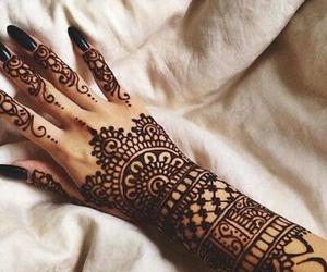 henna and mandala image
