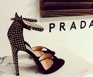 Prada, shoes, and heels image