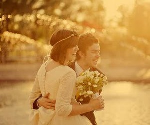 smile, couple, and happiness image