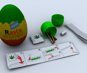 rasta, weed, and kinder image
