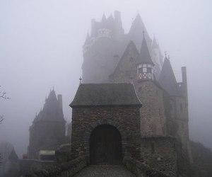 castle, fog, and foggy image