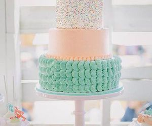 cake, pastel, and sweet image