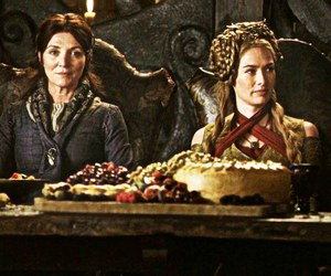 lena headey, the twins, and red wedding image