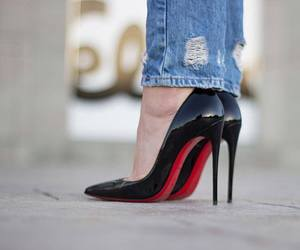 shoes, heels, and love image