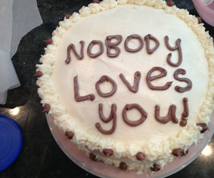 cake, food, and grunge image