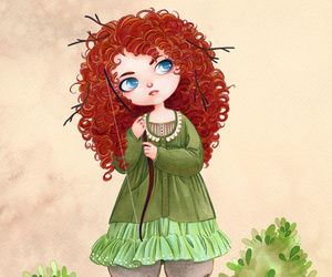 merida and princess image
