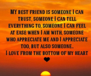 beautiful, best friend, and quotes image