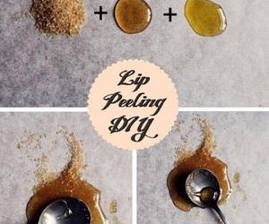 diy, lips, and peeling image