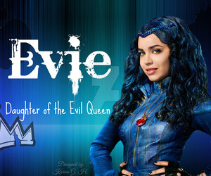 evie, evil queen, and disney descendants image