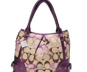 bags, fashion, and coach image