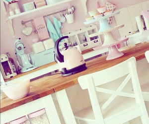 blue, candy, and kitchen image