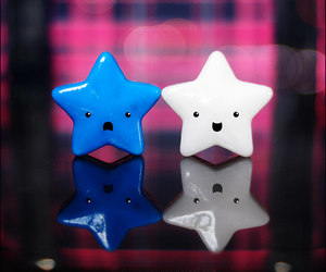 stars, cute, and blue image