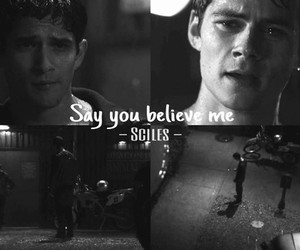 teen wolf, sciles, and stiles image