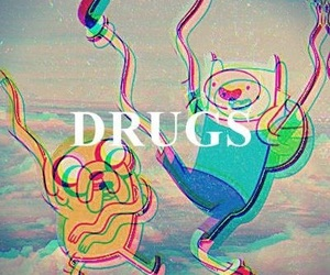 drugs, adventure time, and finn image