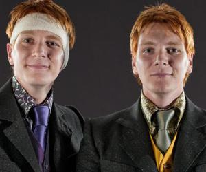jokes, fred and george weasley, and pranksters image