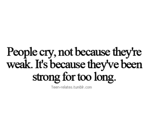 cry, quotes, and teen relates image