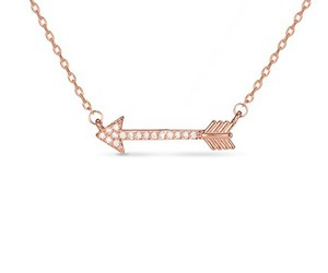 arrow, necklace, and fashion jewelry image