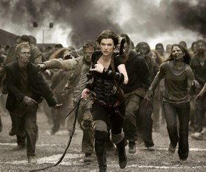 resident evil, zombies, and alice image
