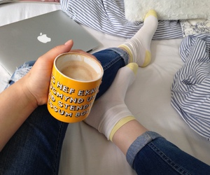 yellow and coffee image