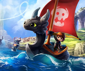 dreamworks and httyd image