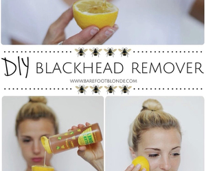 diy, lemon, and beauty image