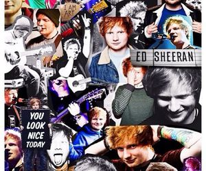 ed sheeran, Collage, and ed image