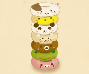 donuts, kawaii, and cute image