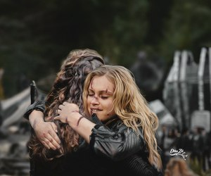 the 100, clarke griffin, and lexa image
