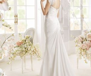 beautiful, gowns, and wedding image