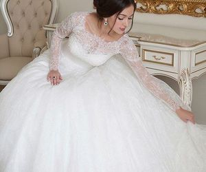 beautiful, glamour, and gowns image