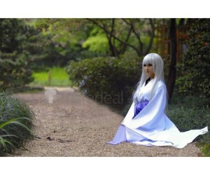 vampire knight cosplay, cheap cosplay costumes, and white hair girl cosplay image