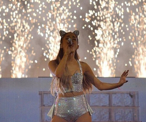 low quality and ariana grande image