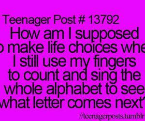 funny, teenager post, and life image