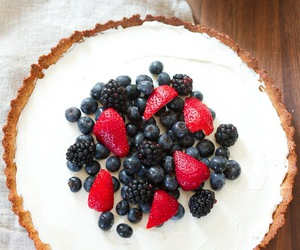 almond, ginger, and berries image