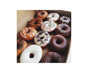 donuts, eat, and good morning image
