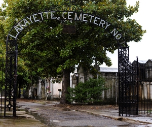 new orleans and lafayette cemetery image