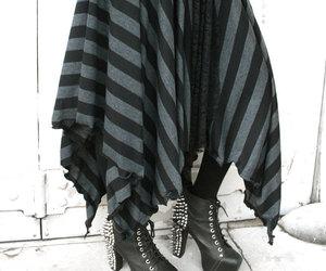 black, goth, and gypsy image