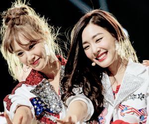 snsd, tiffany, and yuri image