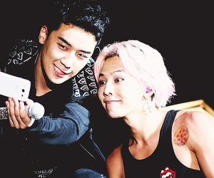 g-dragon, bigbang, and seungri image