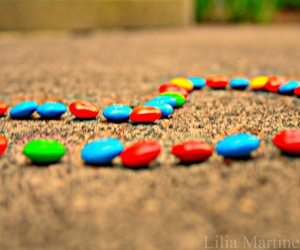 skittles and love image