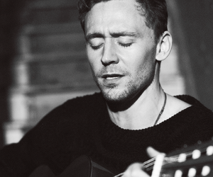 tom hiddleston, guitar, and actor image