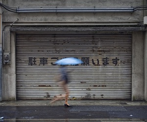 japan, girl, and umbrella image