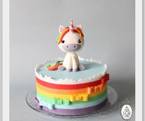 cake and unicorn image